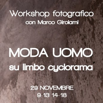 workshop moda uomo fotografia roma lumina sense art-lab