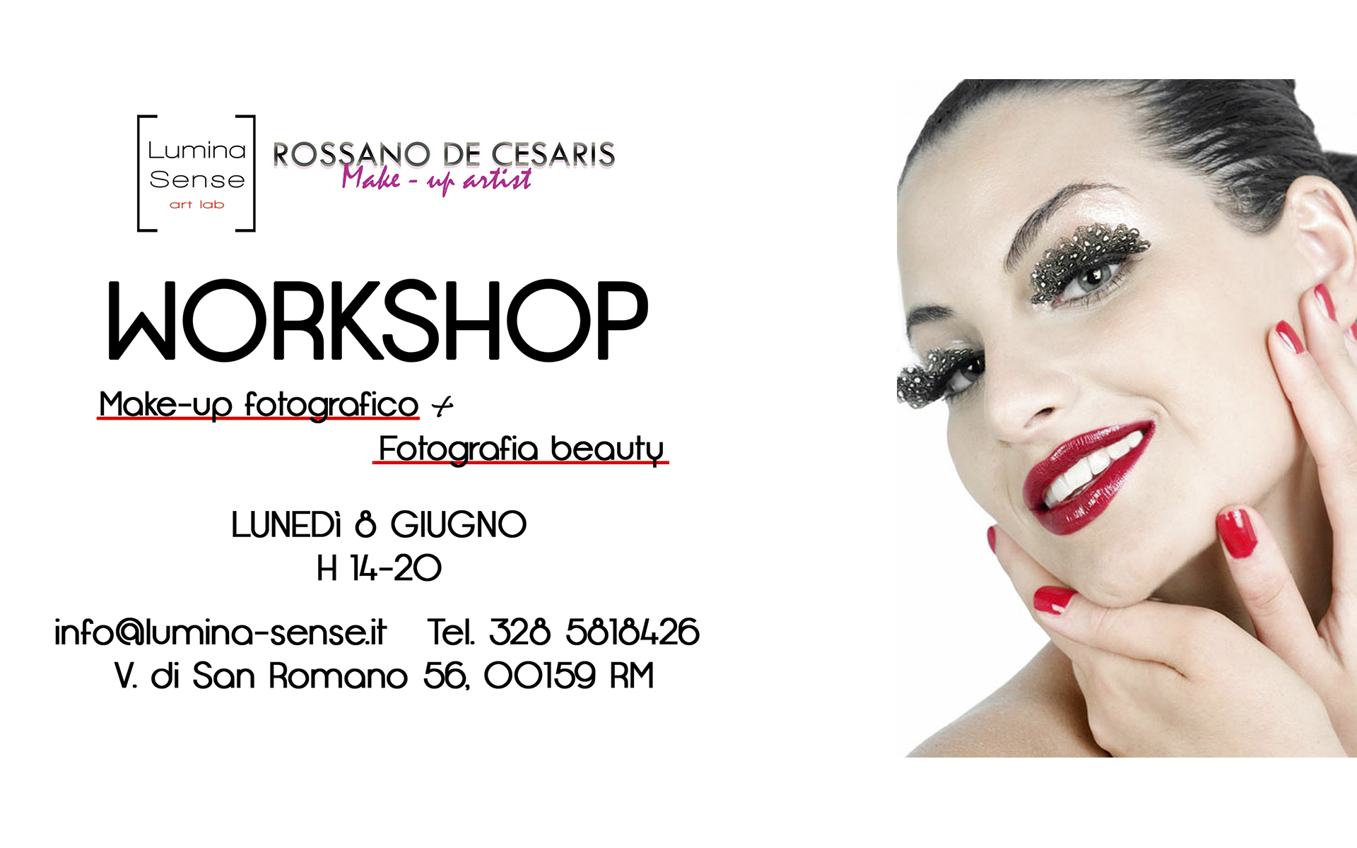workshop fotografico make-up