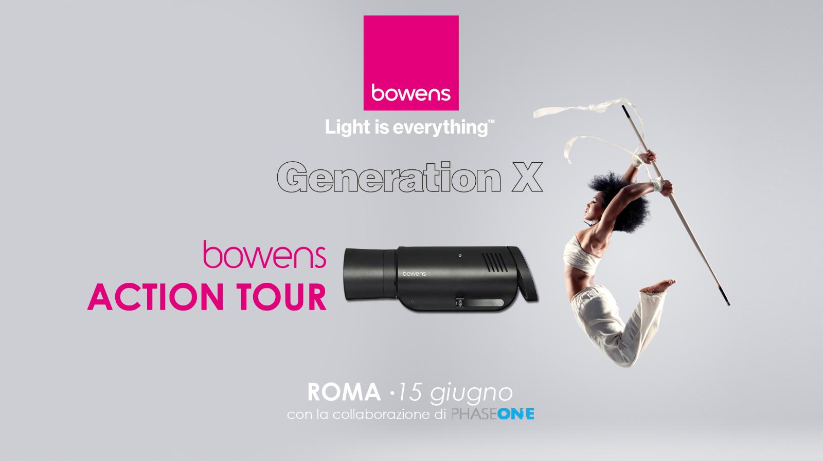 bowens action tour